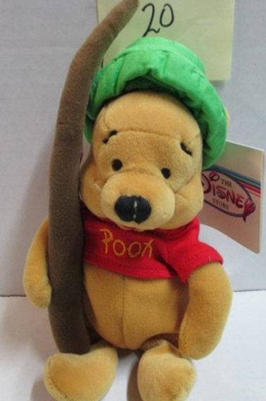 "Fishing Pooh 8"" / Disney Beanies"