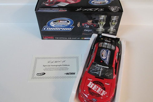 2012 Autographed Cargill Nationwide Champion   / Ricky Stenhouse Jr. 1:24  Wall