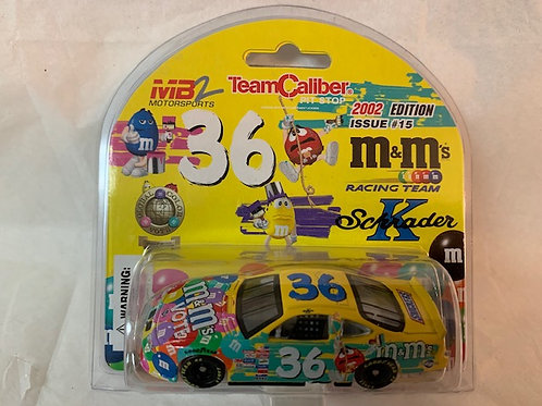 2002 M&M's Vote Car / Ken Schrader 1:64 Box#13