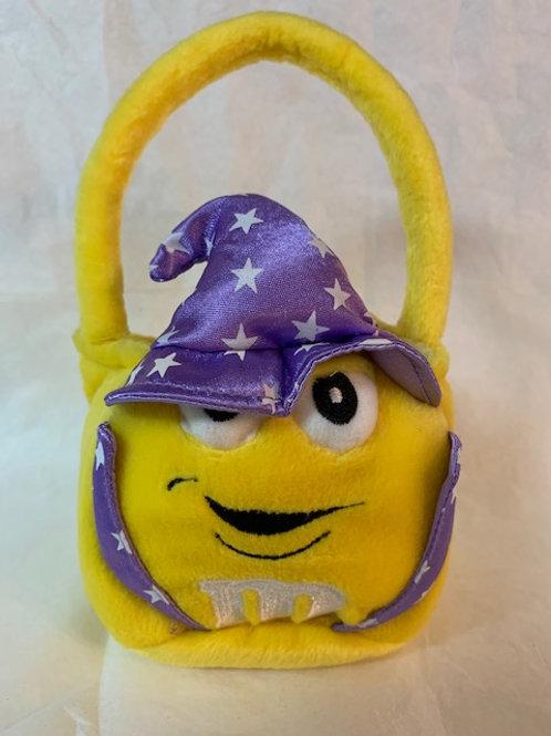 2003 M&M Screaming Yellow Wizard Basket  / M&M Stuff Box#1