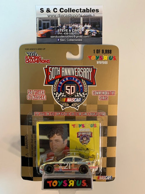 1998 Citco Toy's R Us Gold Car / Michael Waltrip 1:64  Box# 42