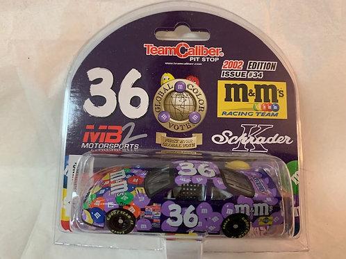 2002 M&M's Purple Global Color Vote Car / Ken Schrader 1:64  Box#13