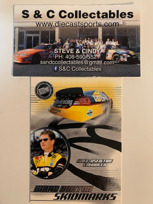 2003 Enhanced with Race-Used Tire Technology  / Ward Burton  Cards
