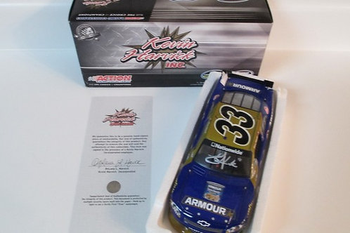 2010 Autographed Armour Food  / Kevin Harvick 1:24 Wall