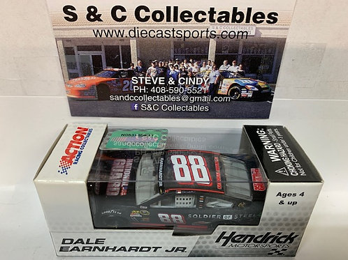 2013 National Guard Man of Steel / Dale Earnhardt Jr. 1:64