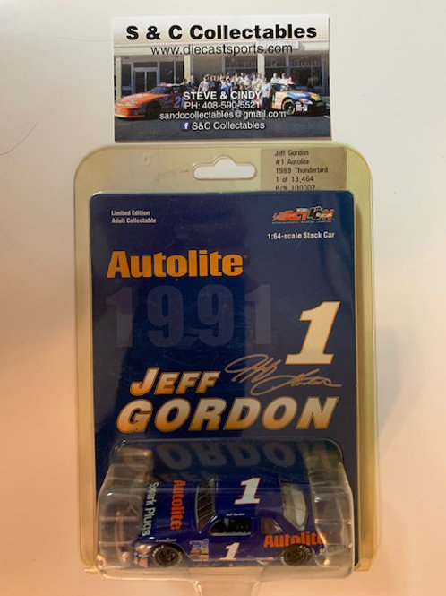 2002 Autolite 1989 Thunderbird / Jeff Gordon 1:64