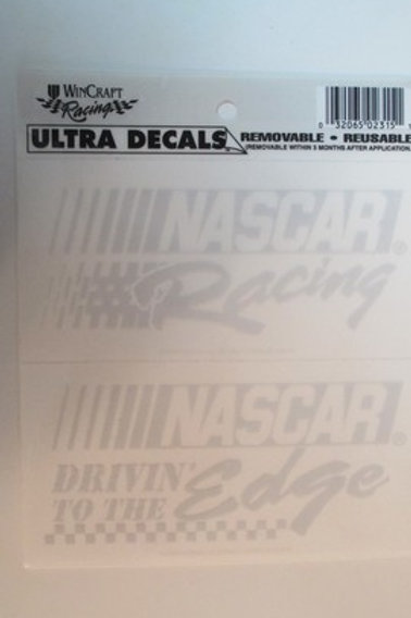 2003 NASCAR Drivin' to the Edge Decal  / Decal #2