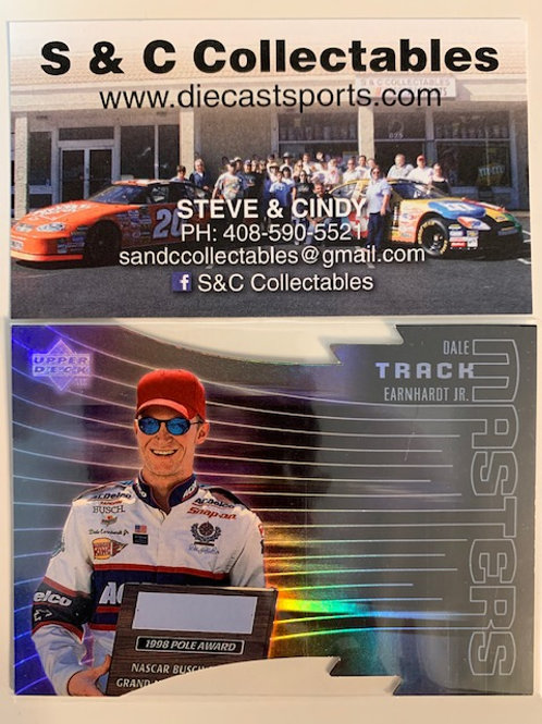 1999 Track Masters Die Cut  / Dale Earnhardt Jr.  Box# FF
