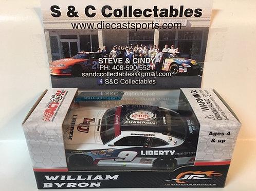 2017 Xfinity Champion Liberty University (Rookie Car) / William Byron 1:64