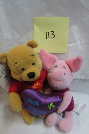 Pooh & Piglet Friendship / Disney Beanies