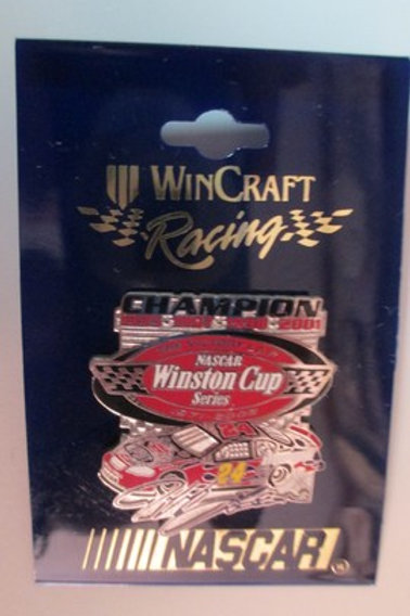 2004 NASCAR Winston Cup Champion Hat Pins / Jeff Gordon  Hat Pit #1