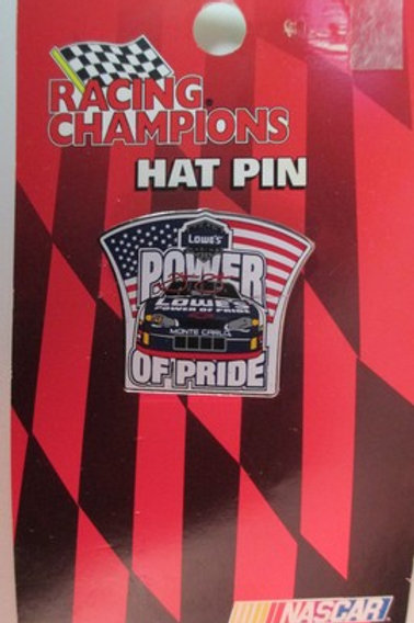 2002 Lowe's Power of Pride Hat Pins / Jimmie Johnson  Hat Pin #2