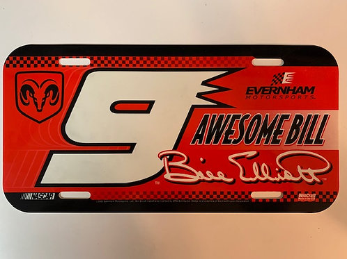 2002  Awesome Bill License Plate / Bill Elliott Box# 95