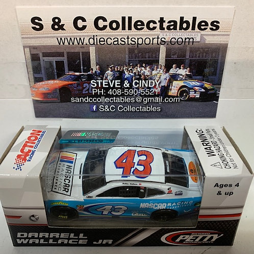 2018 NASCAR Racing Experience (Rookie Car) / Bubba Wallace 1:64