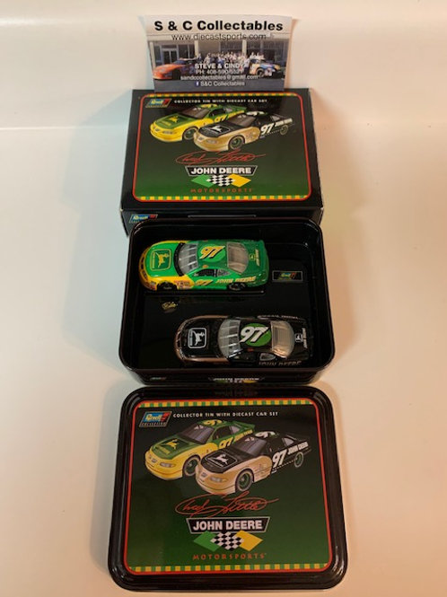 1997 John Deere 2 Car Set / Chad Little 1:64 Shelf