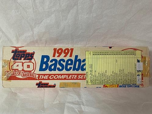 1991 Topps 40 Year of Baseball Complete Set   (Never Opened)  / Baseball Box# 43
