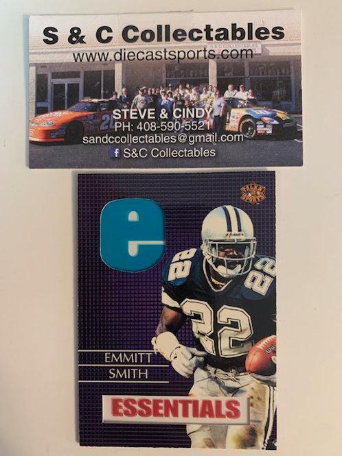 1997 Score Board Talkin' Sports  Essentials Emmitt Smith / Football Box# F1