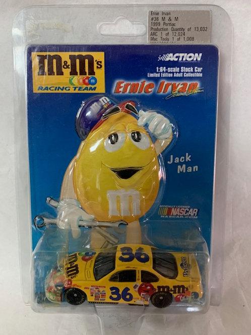 1999 M&M's Jack Man / Ernie Irvan 1:64 Box#13