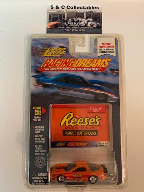 1999  Reese's Peanut Butter Cups  / Johnny Lightning - Hot Wheels 1:64 Box#40