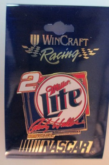 1999 Miller Lite Hat Pins / Rusty Wallace  Hat Pin #2