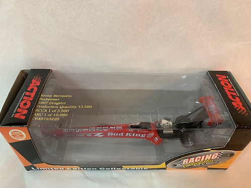 1997 Budweiser NHRA Dragster / Kenny Bernstein 1:64  Shelf