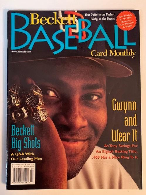 1997 Beckett Card Monthly Issue# 150 / Tony Gwynn-Baseball