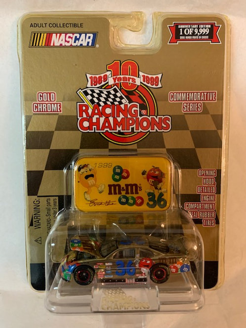 1999 M&M's With Medallion 24K Gold Plated Reflections / Ernie Irvan 1:64 Box#15