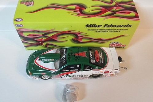 2005 Autographed  ac Tools Pro Stock  / Mike Edwards 1:24
