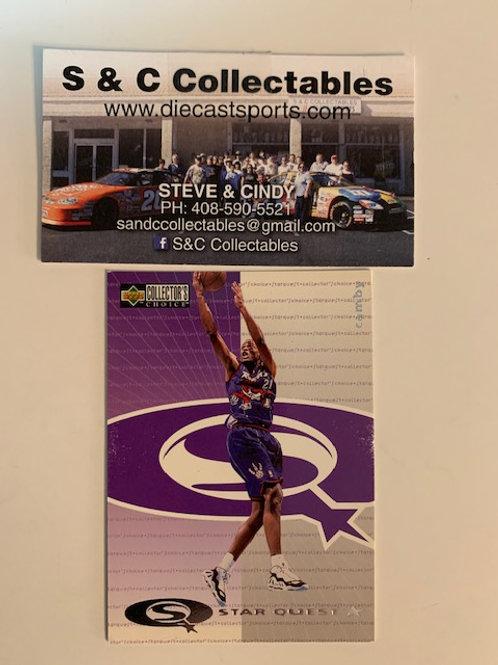 1997-98 Upper Deck Marcus Camby Raptors Card# sq7 / Basketball-BK1
