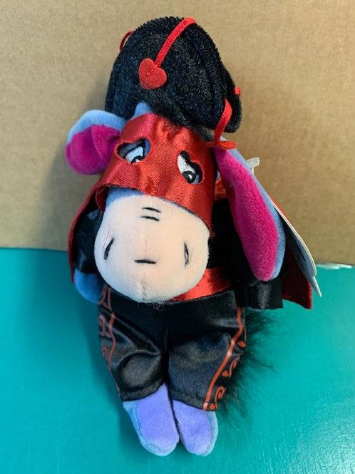 "Disney Beanies Valentine  Cape Hat & Mask Eeyore 9"" / Disney Beanies"