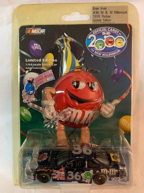 1999 M&M's Red Millennium / Ernie Irvan 1:64 Box#13