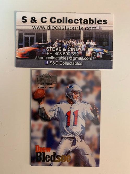 1997 Metal Universe Body Shop Drew Bledsoe / Football  Box# F1