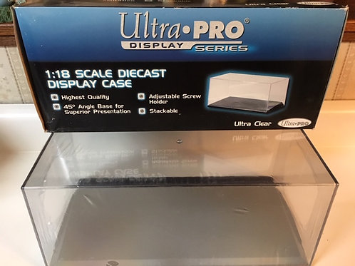Ultra Pro 1:18 Scale Diecast Display Case / Ultra Pro-Supplies