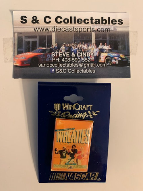 2002 Wheaties Hat Pin Box# 5