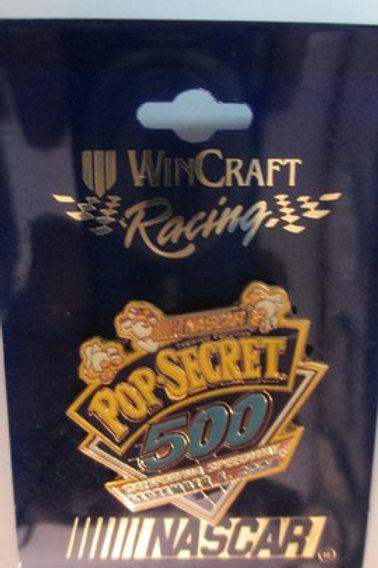 2004 POP Secret 500 September 5, 2004 Event Pin / Hat Pin #2