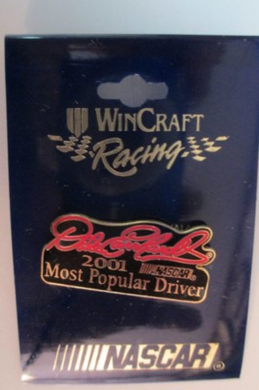 2001 Most Popular Driver Hat Pins / Dale Earnhardt Sr.  Hat Pin #2