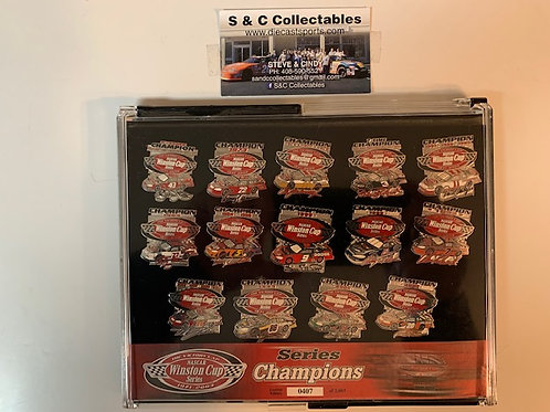 2003 The Victory Lap Winston Cup Series Champions Hat Pins Box# 5