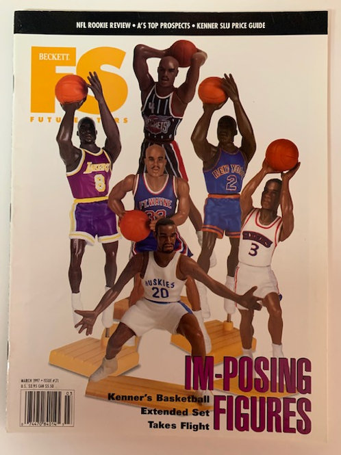 1997 Beckett Card Monthly Issue# 71 Rookie Review  / Basketball