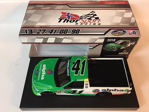 2018 Alpha Energy Solutions Camping World Truck Series / Ben Rhodes 1:24  Wall