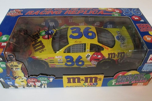 1999 Autographed M&M's on the Box Lid  / Ernie Irvan 1:24  Wall
