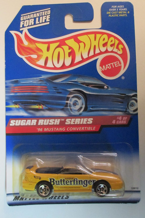 1997 Butterfingers Sugar Rush Series / Hot Wheels 1:64   Peg