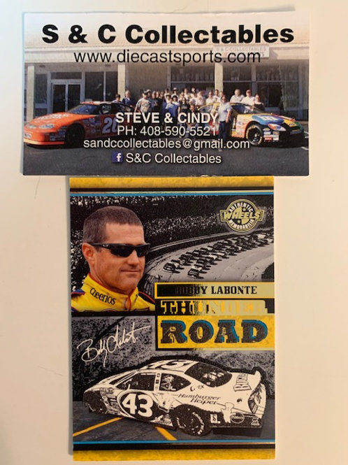 2006 Enhanced with Race-Used Tire Technology  / Bobby Labonte   Cards