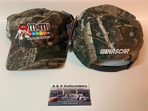 2021 M&M's Patriotic Camo Adult Hat / Kyle Busch