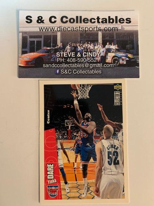 1996-97 Upper Deck Yinka Dare Center  Card# 98 / Basketball--BK1
