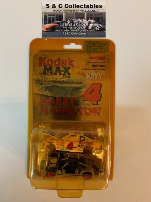 2000 KODAK MAX Film Armed Forces Navy (Total Concept)  / Bobby Hamilton  1:64