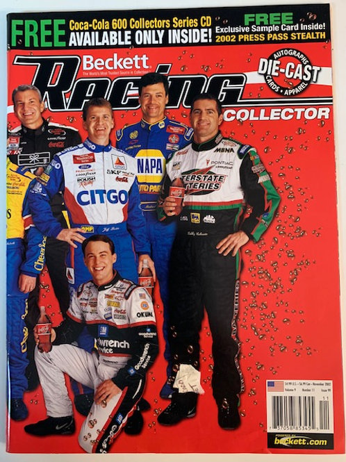2002 Beckett Card Monthly Issue# 99 / Various Drivers