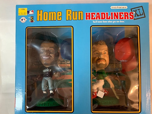 1998   Ken Griffey Jr. & Mark McGwire Home Run / Baseball   Box# 40