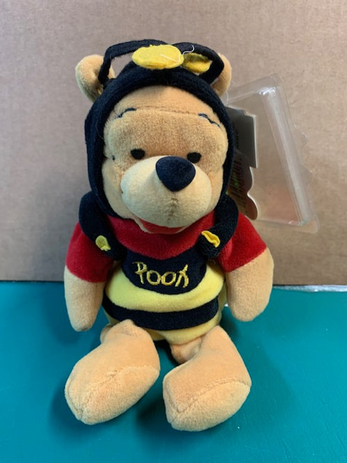 "Disney Beanies Winnie the Pooh Bumble Bee 8"""