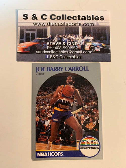 1990-91 NBA Hoops Joe Barry Carroll Card# 92 / Basketball-BK1