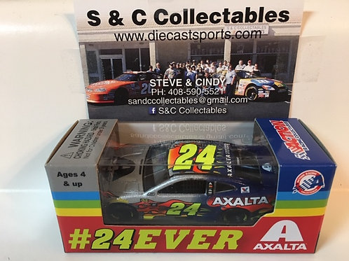 2018 #24EVER Fantasy Paint Scheme (Rookie Car)/ Jeff Gordon - William Byron 1:64